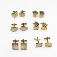 Fashion Stainless Steel Make Custom Metal Cufflinks