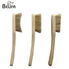 Belifa oem branded high quality natural boars hair wooden bouldering <strong>brush</strong> climbing and crush rock climbing <strong>brushes</strong>
