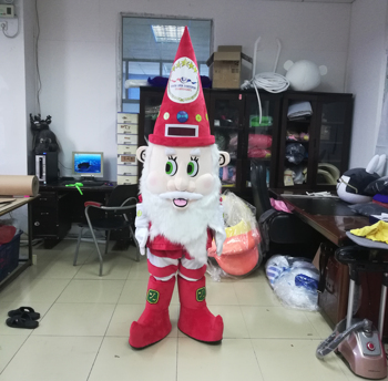 Popular custom Christmas father Santa Claus mascot costume for adult