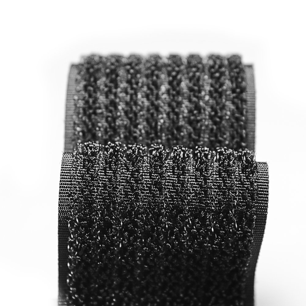 Customized size 100% <strong>nylon</strong> 2 in 1 hook and loop fastener tape hook loop mixed strap roll