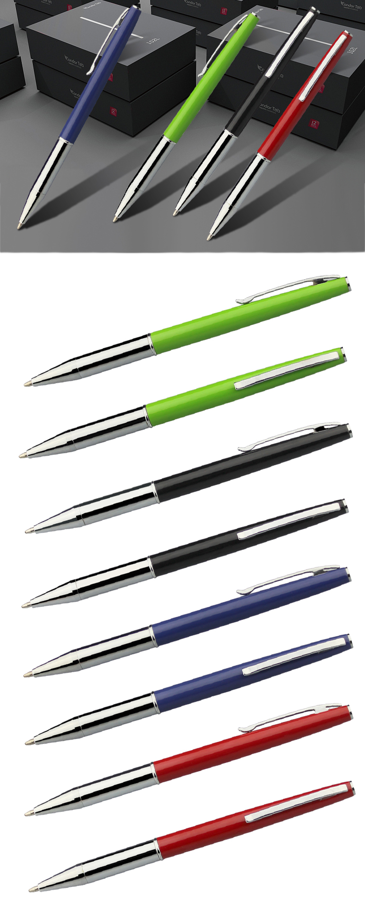 Wholesale Promotional metal ball pen with logo ballpoint pen
