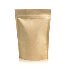 In Stock Stand up Pouch Foil Kraft <strong>Paper</strong> Bag With Zipper