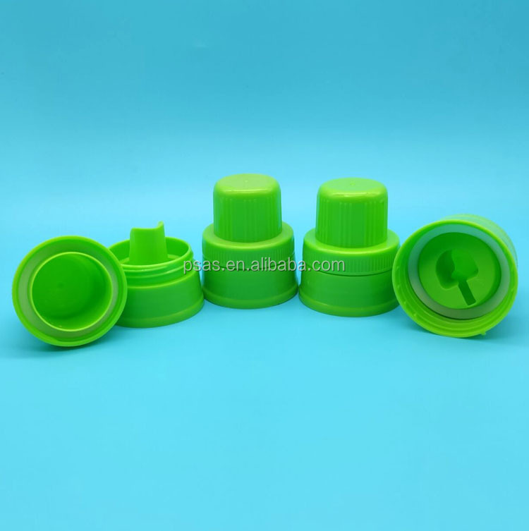 45mm Plastic laundry detergent caps Large Plastic Closures Washing Cap Lids