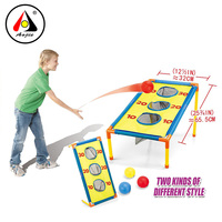 BSCI Factory wholesale kids indoor outdoor toys ball toss Cornhole game Set