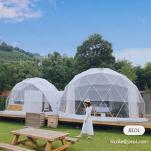 Waterproof PVC Domes , Glamping Geodesic Dome House for Sale