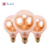 America Standard 2000k 120lm E26 G80 classic pattern,thread D31.5mm,3.5W dimmable led RN bulbs
