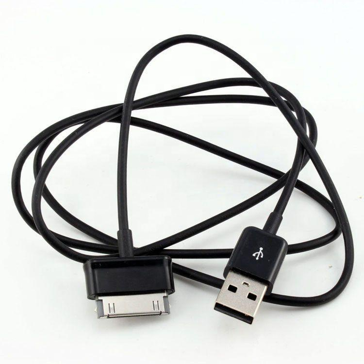 3ft USB Charger Charging Data Cable Cord For Samsung <strong>Galaxy</strong> <strong>Tab</strong> 2 3 N8000 P7510 P7500 P6200 <strong>P1000</strong> P3100 Black
