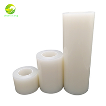 China transparent pe plastic film <strong>roll</strong> protective film for plastic product surface