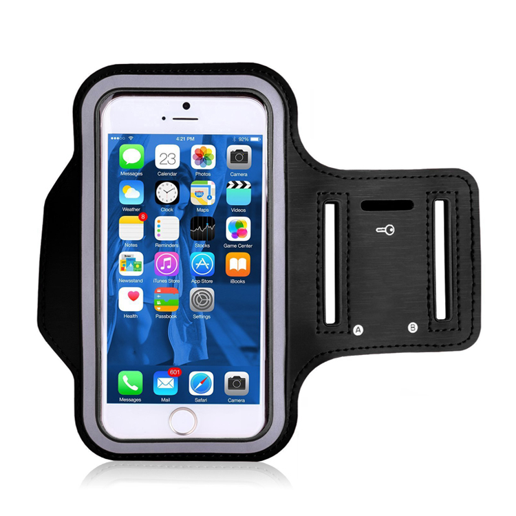 Sports Running Mobile Phone Arm Bag Armband Waterproof Neoprene Cell Phone Arm <strong>Case</strong>