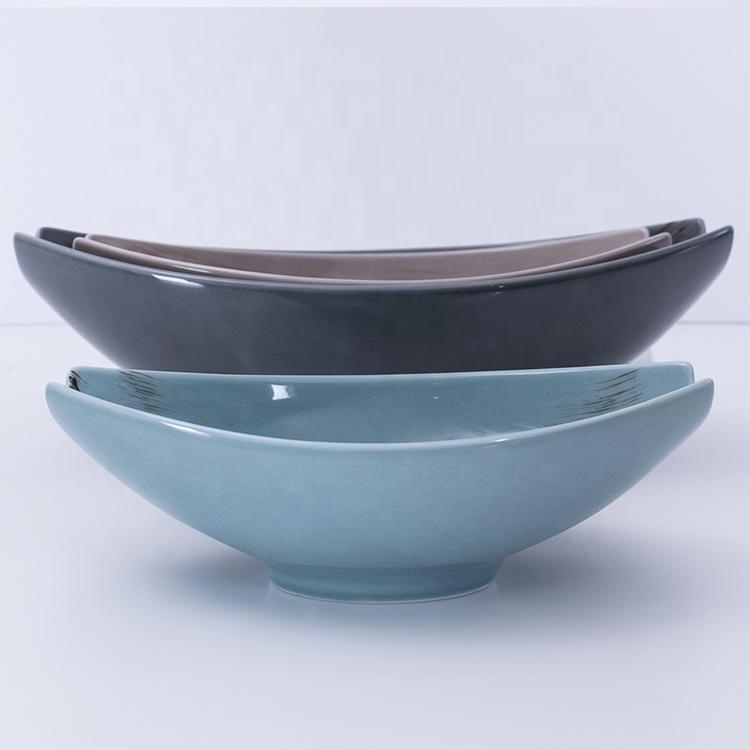 custom logo unique ceramic bowls