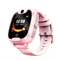 HD Full View Touch Screen Anti-lost Real-time Position Tracker Smart Watch For Kids Child with Sim and Camera