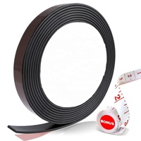 Rubber Self Adhesive Magnetic Stripe Flexible Magnet DIY Strip Tape Sticky