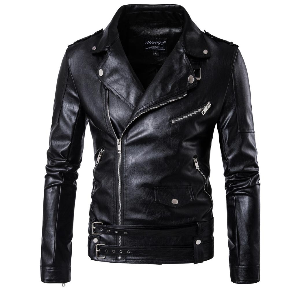 2019 hot sell spring autumn winter leather jacket <strong>men</strong> luxury <strong>mens</strong> leather jacket