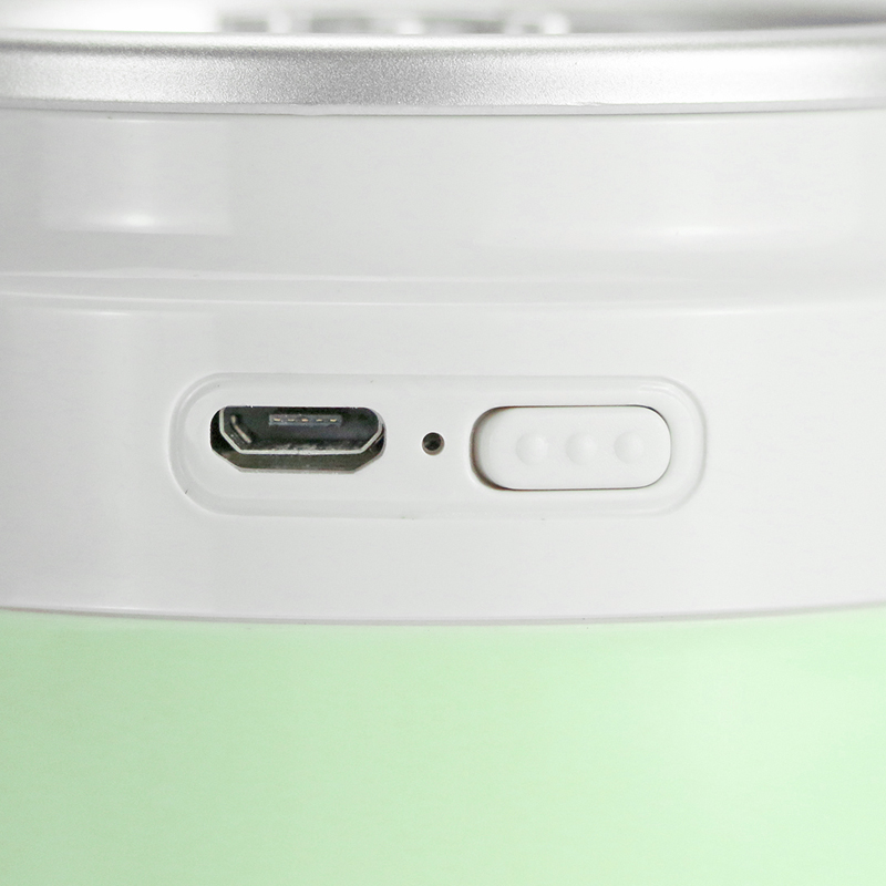Rechargeable Portable Aroma Diffuser Cool Mist Car use Mute Ultrasonic Air Humidifier with Night Decor Light