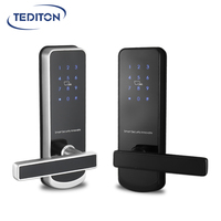WiFi Keyless App Digital Door Lock Bluetooth Password Lock Pin Code Electronic Smart Door Lock