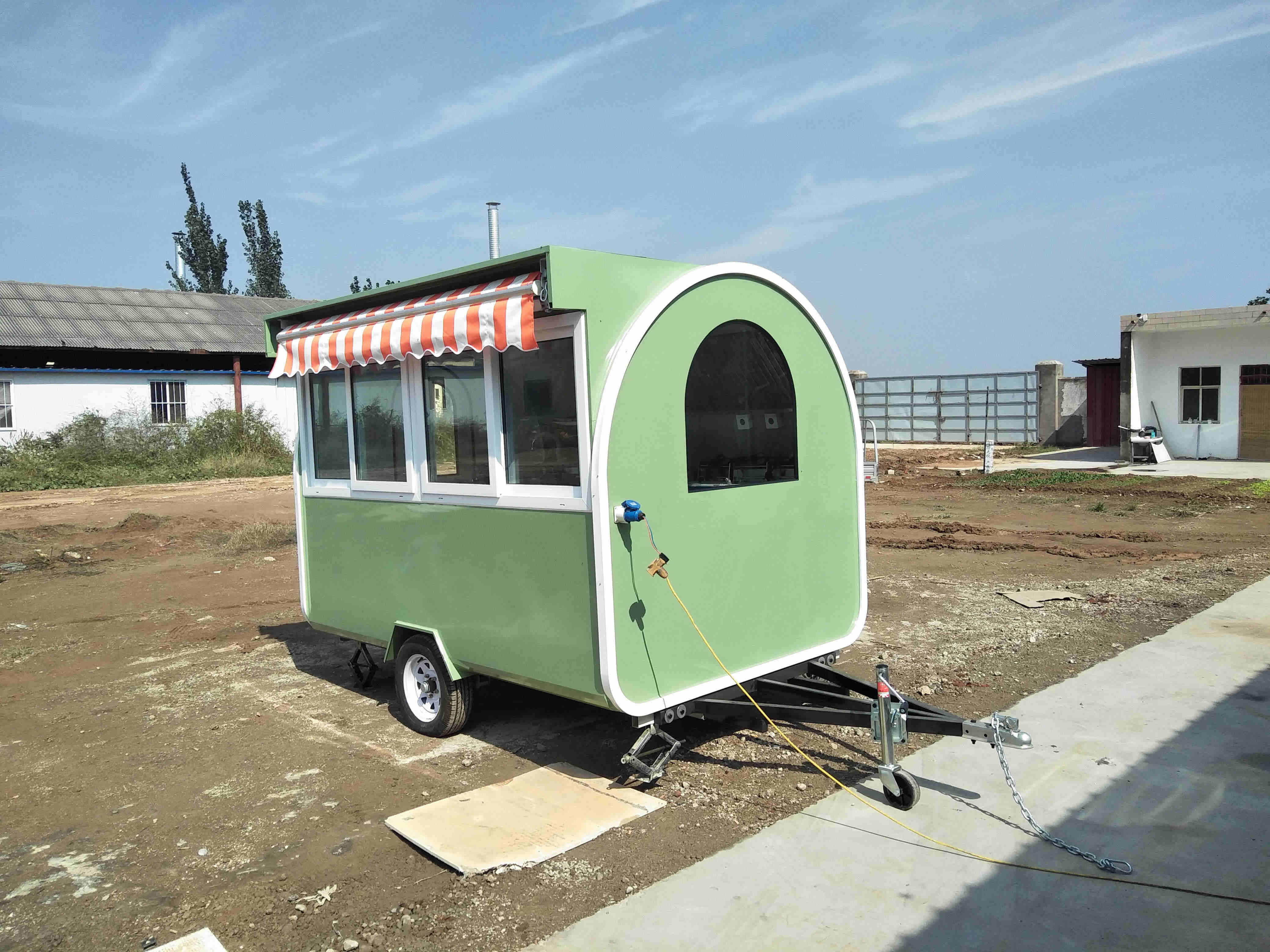 Best sell ice cream food truck mobile food cart hot dog cart