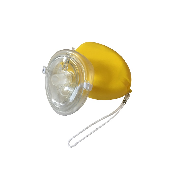 Wholesale disposable emergency breathing face one way valve cpr mask
