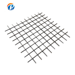 Welding cold rolled ribbed steel reinforced Mesh building materials