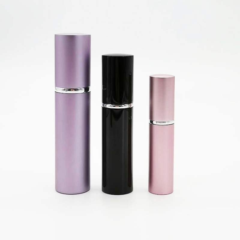 5ml 8ml 10ml 15ml 20ml Round Colorful Refillable Aluminum Perfume Bottle With Great Price