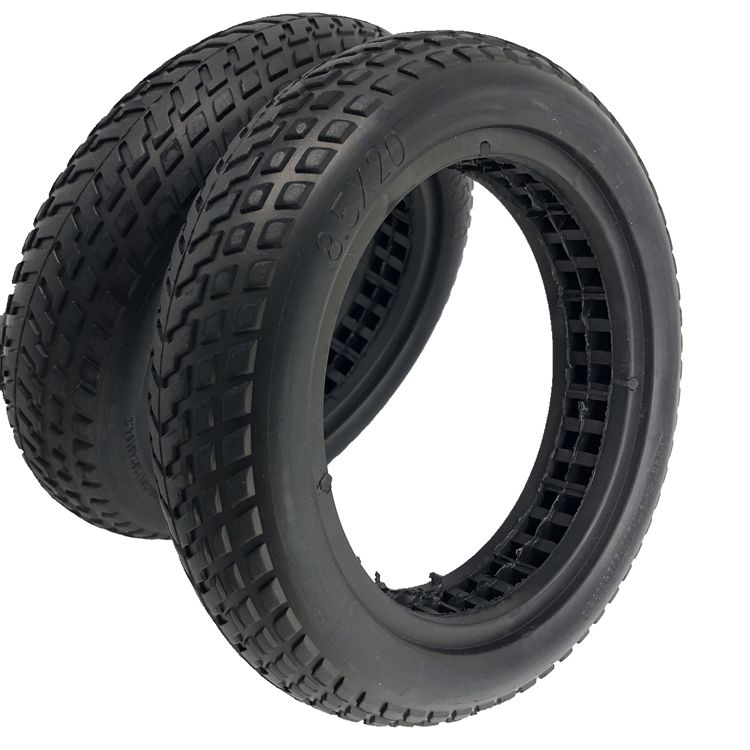 Good Shock Absorption Semi-vocuumb Xiaomi <strong>Tire</strong> m365 <strong>Tire</strong> 8.5 inch Solid <strong>Tire</strong> for Mijia electric scooter