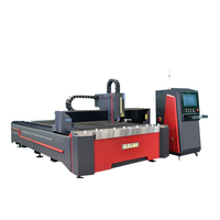 SUDA FG3015 3000*1500mm cnc fiber laser cutting machinery for brass copper and Aluminum