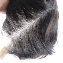 Hot Sale Unprocessed Virgin Raw Indian Hair Toupee Natural Human Hair Men Wigs Swiss Lace Toupee Wig