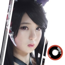 Realkoko 138 Style Wholesale Scary Halloween Crazy Contacy Lens Cosplay Animal Eye Colored Contact Lenses