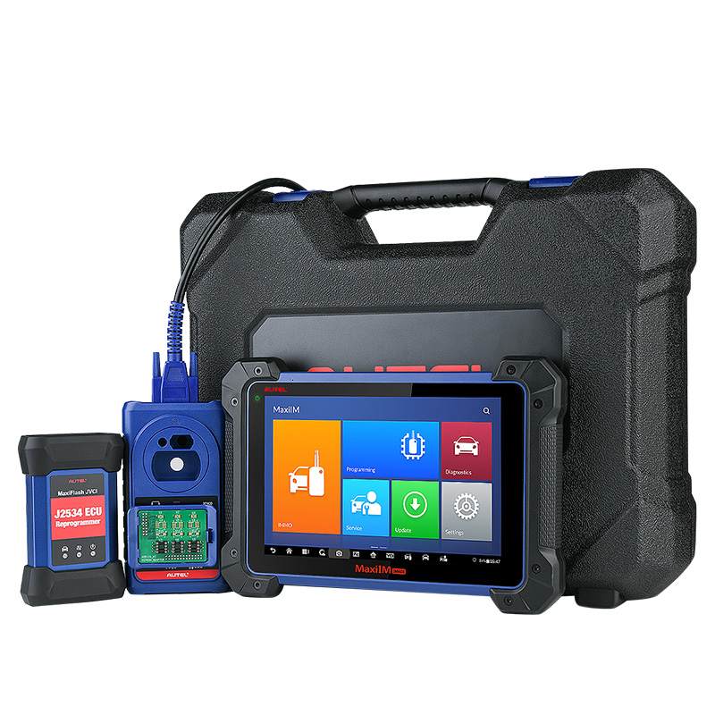 Original autel maxim im608 <strong>j2534</strong> Key programmer <strong>diagnostic</strong> <strong>Tool</strong> with ECU Coding
