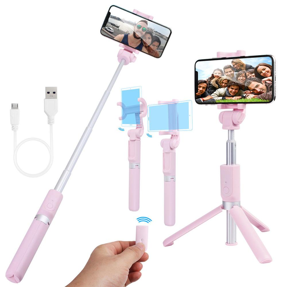 Bluetooth Selfie Stick Mini Aluminum Self-timer Artifact with Tripod for Gopro camera Mobile <strong>Phone</strong>