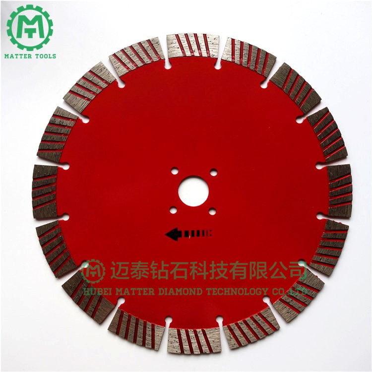 Red Painting 230mm/9inch Continuous Blade for Circular Saw Machine