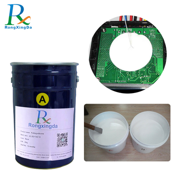 Dust-proof electronic encapsulating potting silicone rubber with good price