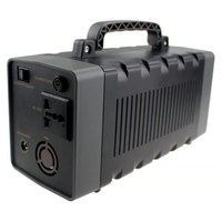 portable rechargeable power station with AC/DC Inverter for home/ Camping Source Power Supply