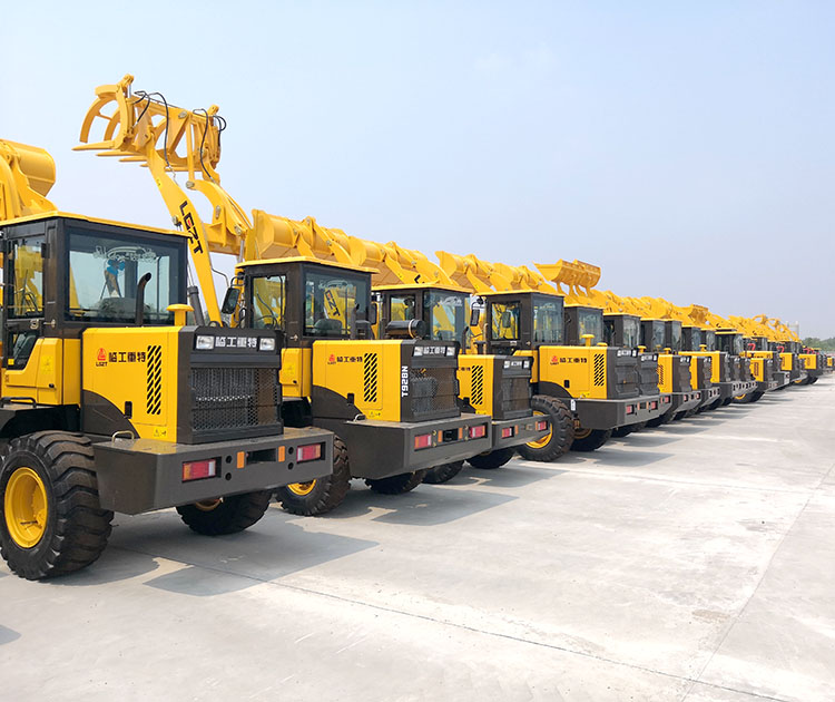 Excavated Wheel Loader small backhoes for sale