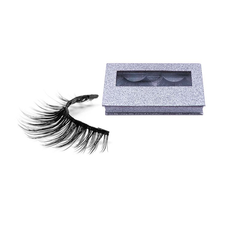 <strong>01</strong> Natural Looking Factory Direct Sale Hand Made 3d Faux Fake Magnetic Eyelashes