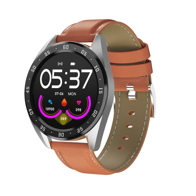 Hotest Watch Drop Shipping <strong>X10</strong> 1.3inch IPS Color Screen Smart Watch IP67 Waterproof,Leather Watchband,Support Call Reminder