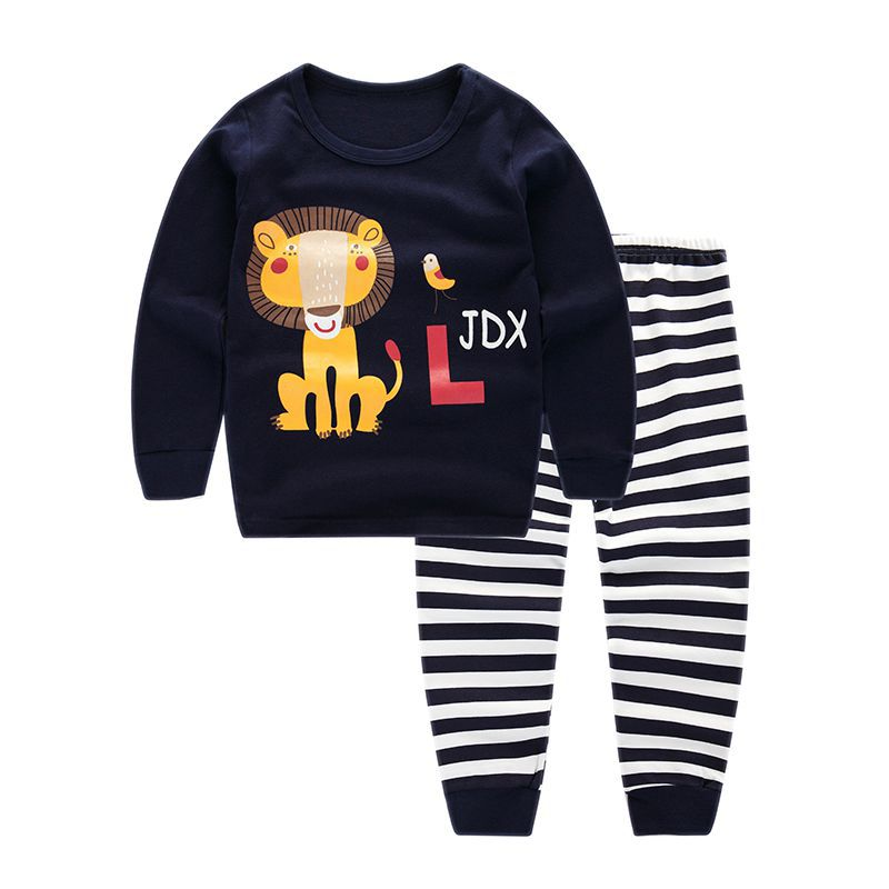 sleepwear pajama kids sleepwear animals kids for autumn
