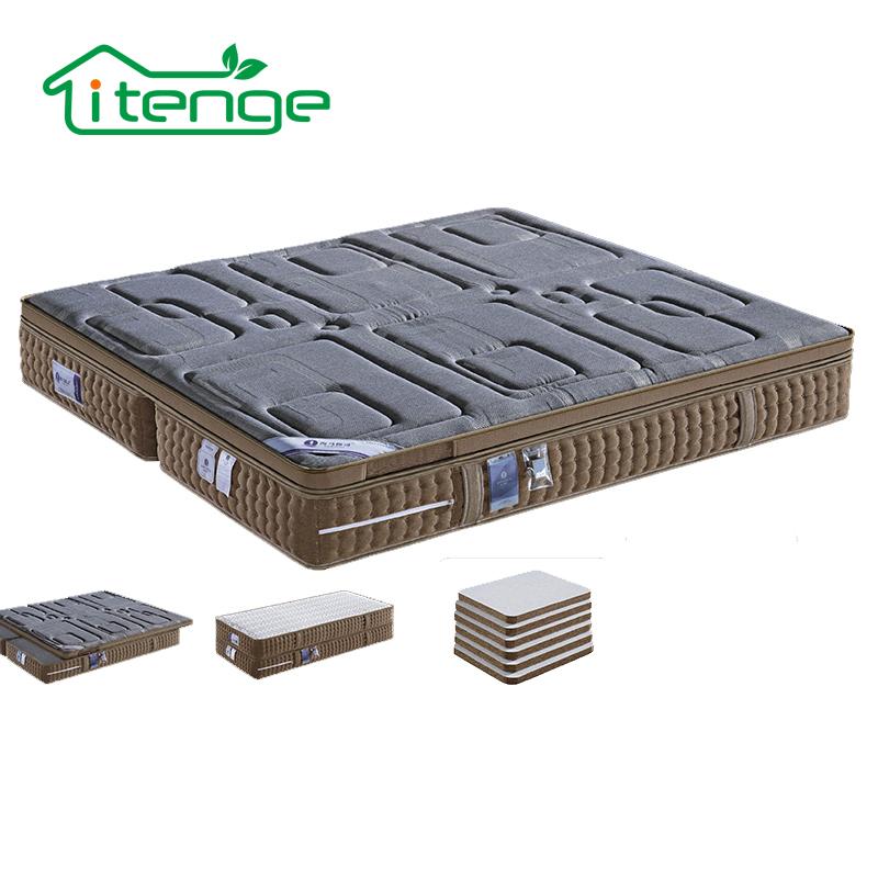 Alibaba certified supplier modern furniture pocket coil spring mattress - Jozy Mattress | Jozy.net