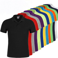 2019 Basic cotton summer breathable custom OEM men polo shirt