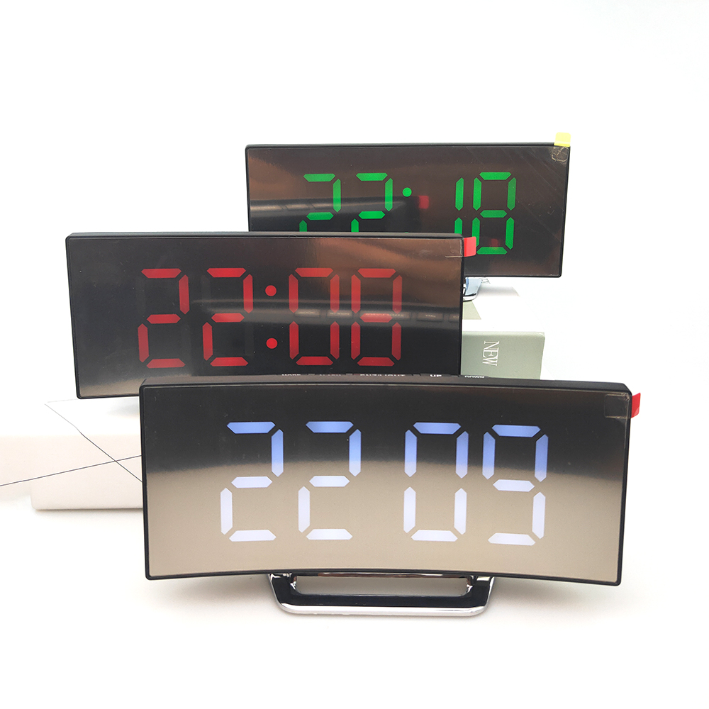 Wholesale cheap home office universal LED digital display alarm clock