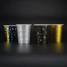 Hot Sell Colorful Shiny <strong>Paper</strong> Cup For Festival Gift