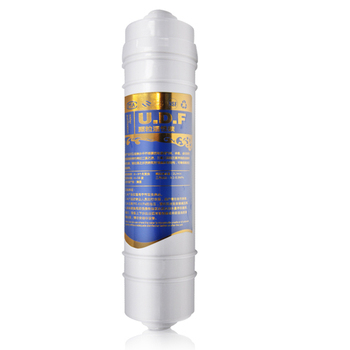 Integrated UDF Carbon Filter Cartridge in RO System