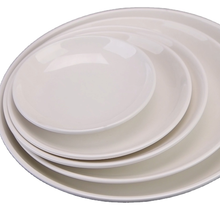 Chinese high quality shell shape food <strong>flat</strong> plastic cheap wholesale wedding melamine dinner Melamine <strong>flat</strong> plate