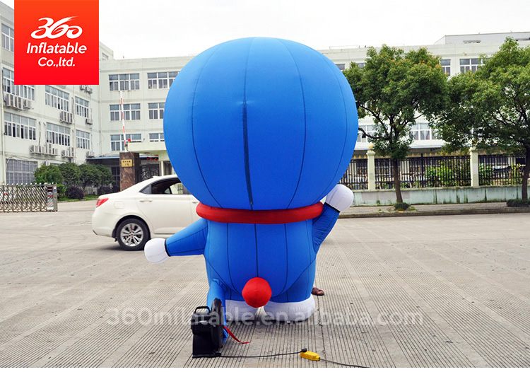 inflatable japanese model robot cat Advertising inflatable cartoon animal model cat inflatable cartoon blue cat  for decoration