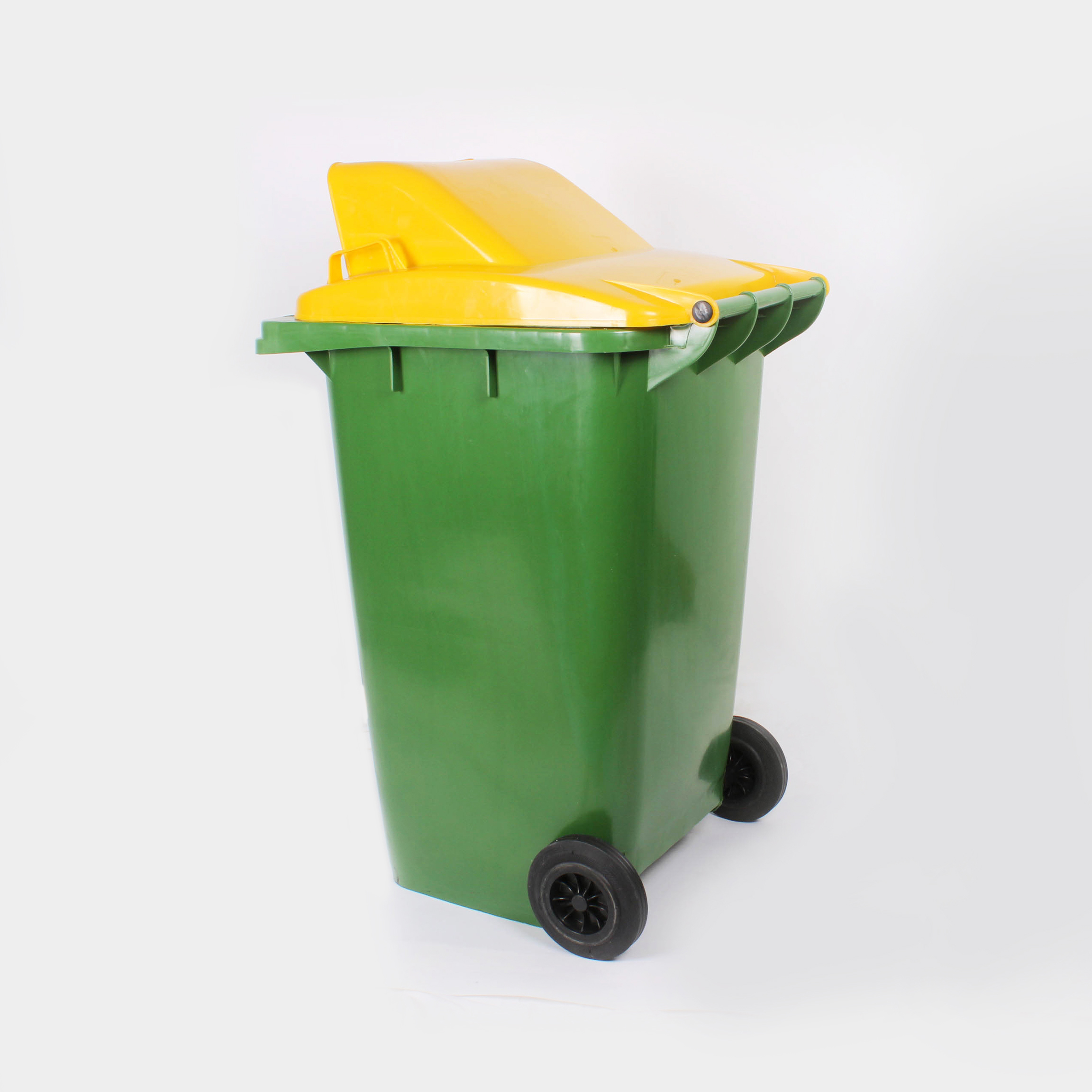 Fashion Push HDPE 240L Plastic Wheelies Waste Bin