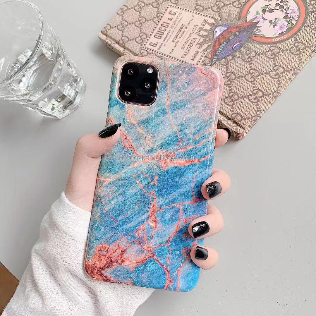 Marble Phone Cases For iPhone 11 Pro Max XS Max XR  X 6 6S 7 8 Plus Hard Pc High Quality Phone Back Case Cover