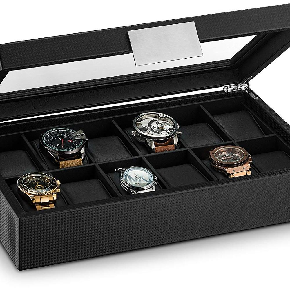 custom made leather watch box/fashionable leather Watch Case