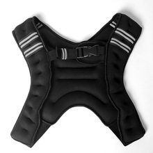 New Style Adjustable Weighted Jacket Exercise Fitness Training <strong>Equipment</strong> 10kg Weight Vest for Boxing