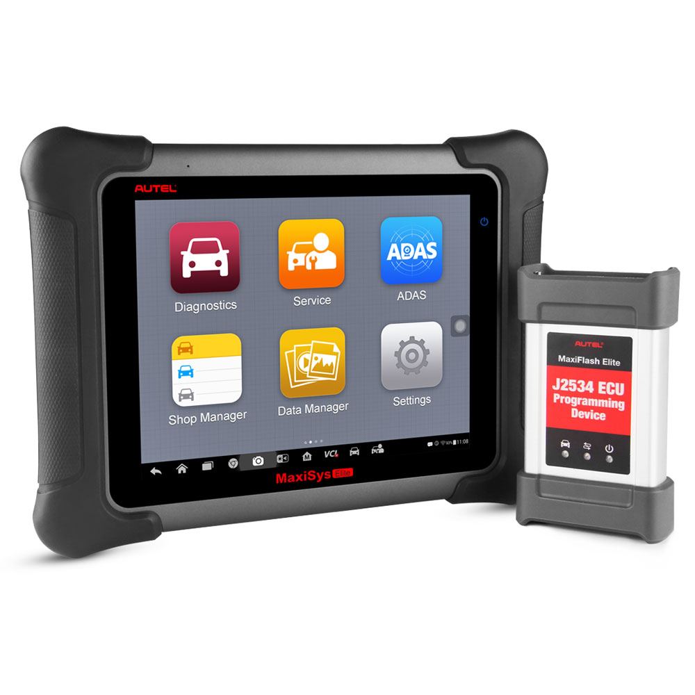 Autel MaxiSys Elite Auto <strong>Diagnostic</strong> <strong>Tool</strong> Scanner Program ECU Programing with <strong>J2534</strong> OBD2 Car <strong>Diagnostic</strong> Scanner <strong>Tool</strong>