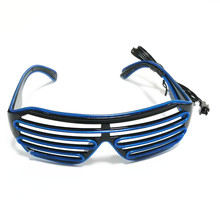 Sound Control <strong>LED</strong> Luminescent Shutter Glasses for Party Bar AllSaints Christmas Day 10 Colors
