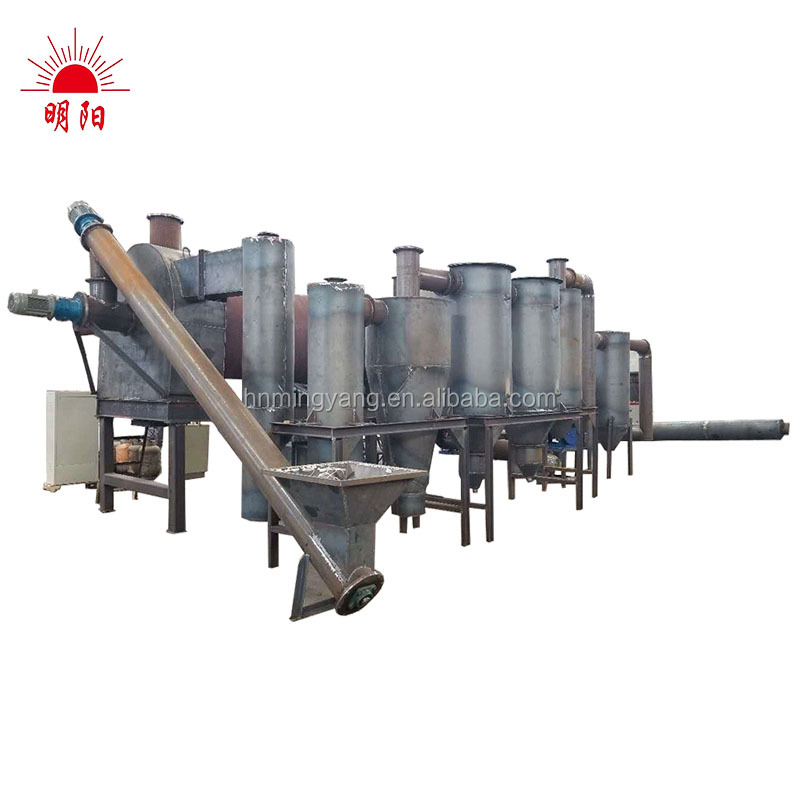 Rice Hull Charcoal Ovens Charcoal Retort Hydrothermal CarbonizationCoconut Shell Charcoal Making Machine